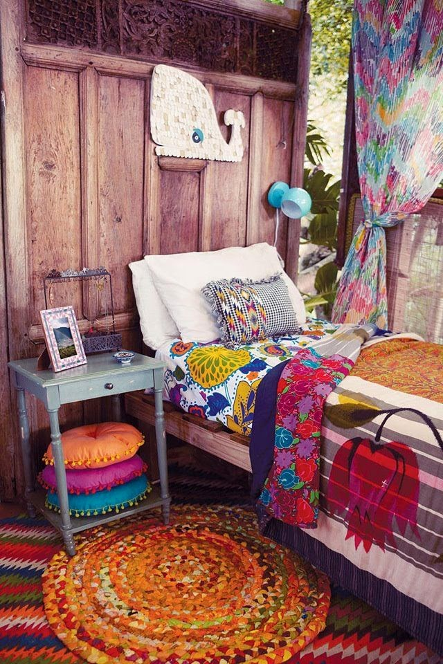 mesita recuperada dormitorio verano