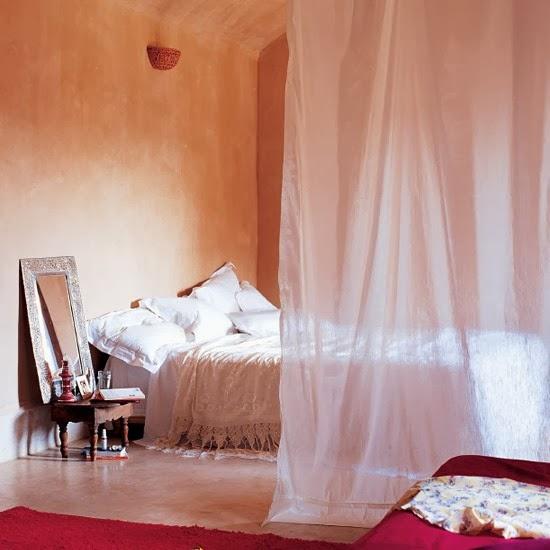dormitorio minimal marroqui
