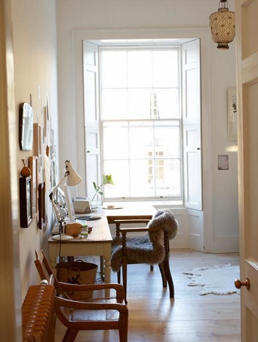 mesa recuperada pintada