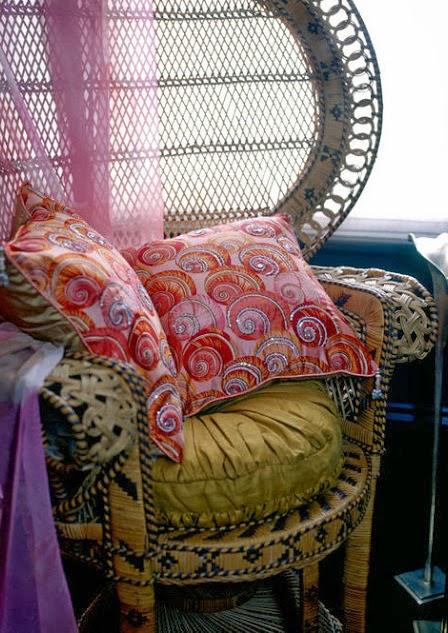 Peacock chair Emmanuelle