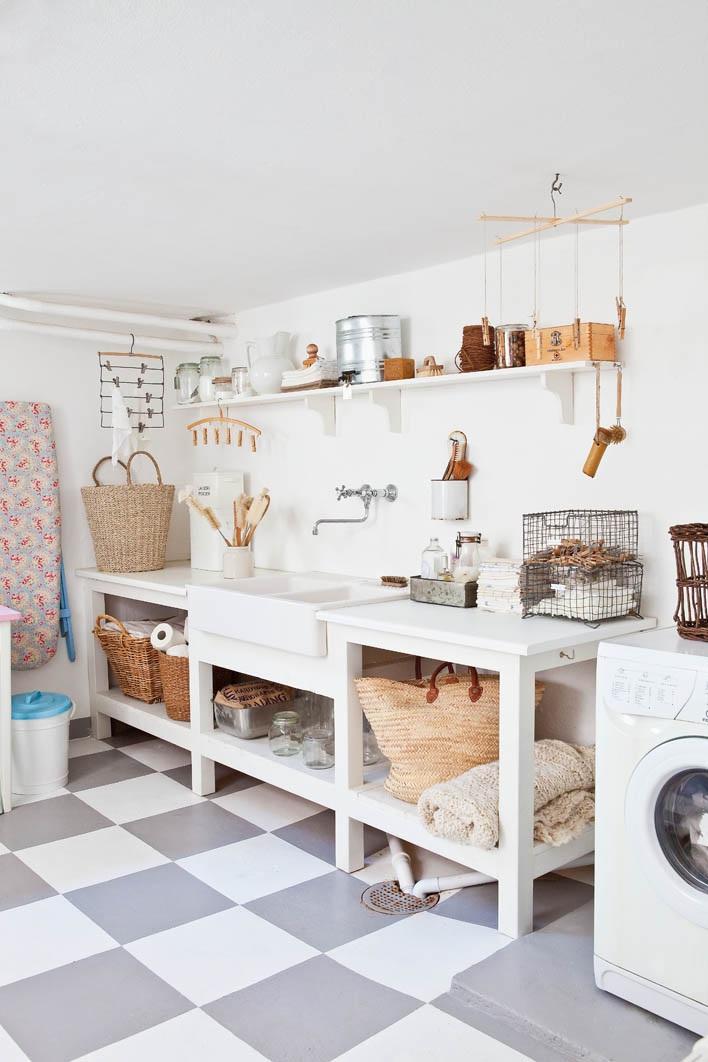 Mari Eriksson laundry room