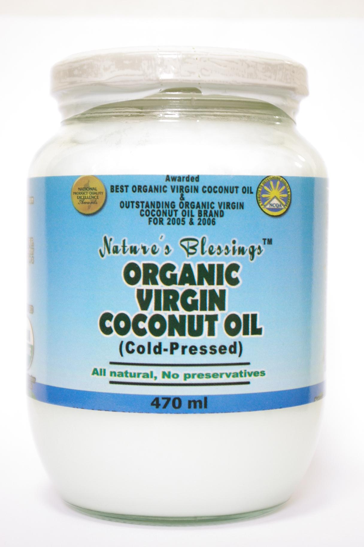 VIRGIN COCONUT OIL - バージンココナツオイル 470ml