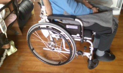 車椅子交換