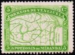 ヴェネズエラ地図(1896)