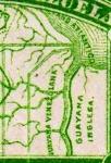ヴェネズエラ地図(部分拡大)