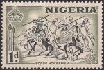 ナイジェリア・ボルノの騎兵