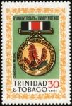 トリニダード・トバゴ独立9周年(ヘリコニア・メダル)