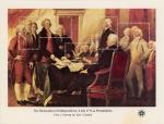 米独立宣言(小型シート)