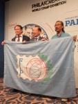 FIP旗引継ぎ(韓国→マレーシア)