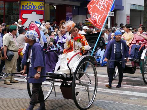 第62回ザよこはまパレード(国際仮装行列)横浜夢座
