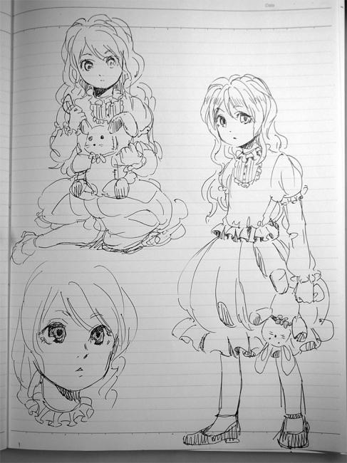 一発描き練習1