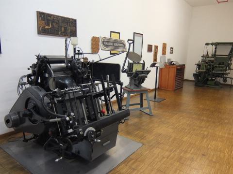 古い印刷機1