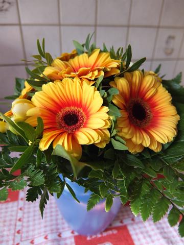 誕生日のお花