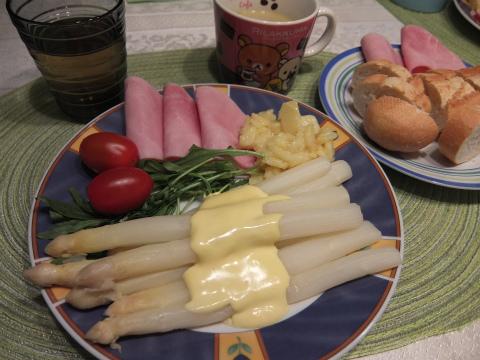 アスパラ料理