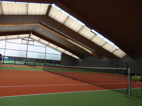 Fellbachのテニスコート1