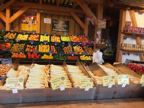 Fellbachの野菜直売所1