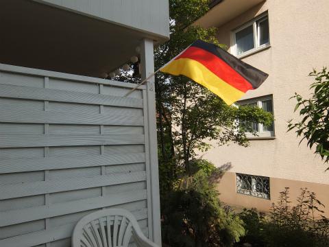 旗を立てた3