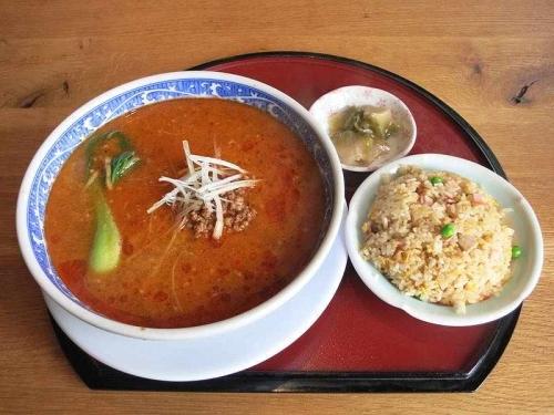 チャーハン&担々麺セット