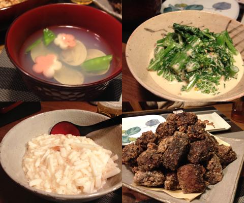 ひな祭りご飯2014