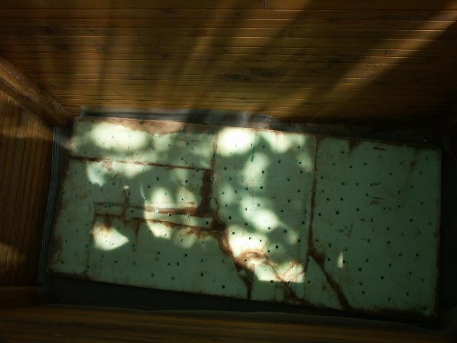 スタイロ底穴