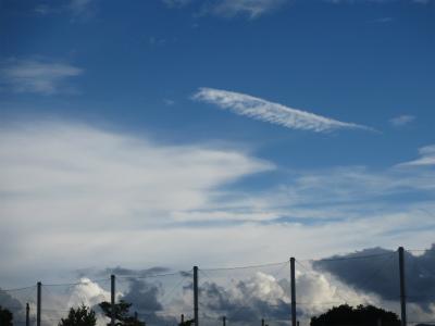 20日の雲