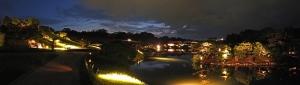 s-20140819 後楽園幻想庭園沢の池ワイド風景 (2)