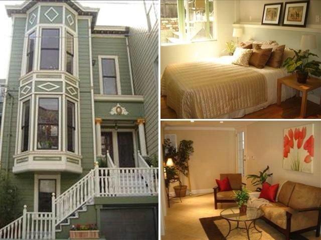 アメリカ・サンフランシスコ市内  の住宅