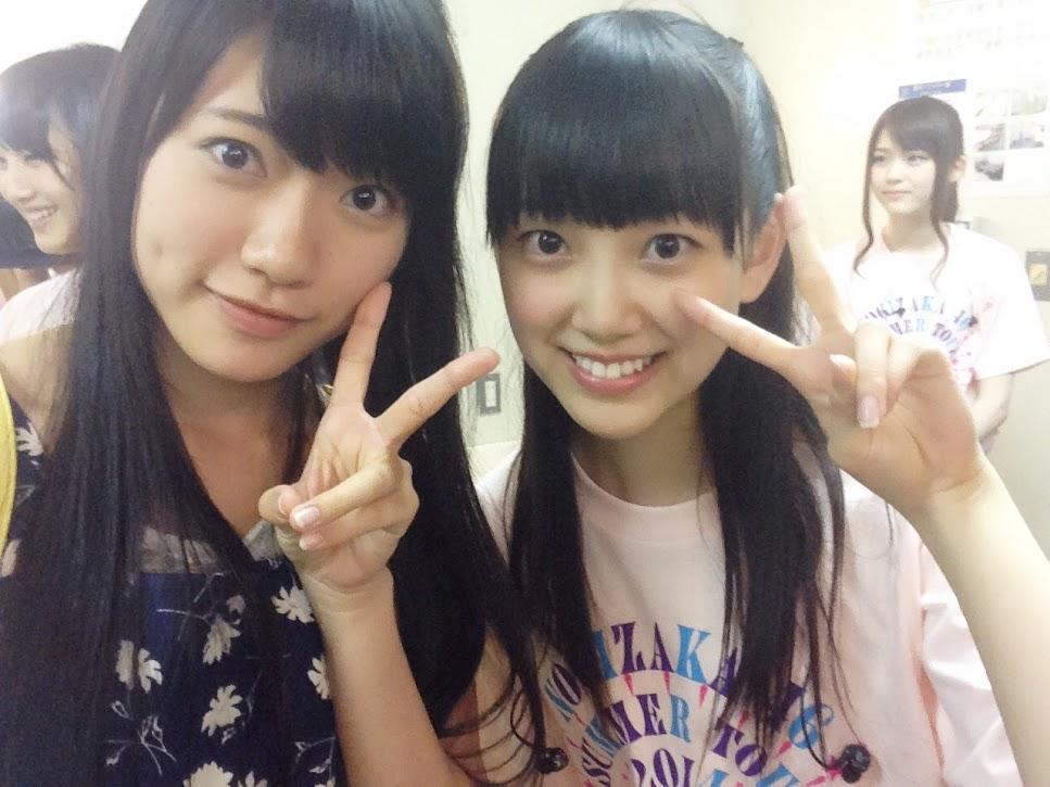 SKE48小林亜実が乃木坂46堀みおなとの2ショット写真を投稿 - AKB48 ...