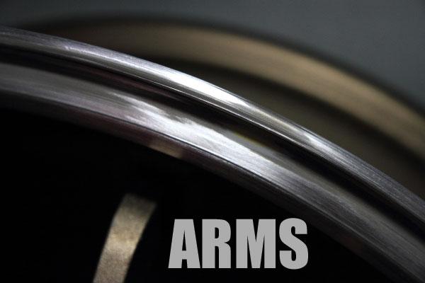 綺麗なアルミ溶接で修理
