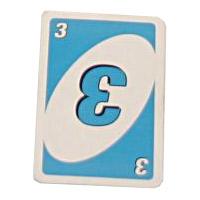 青の3カード