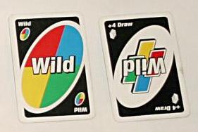 ワイルドカードとドロー4