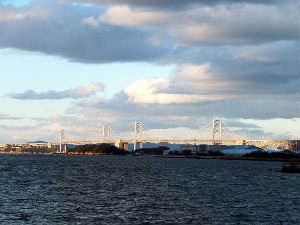 冬の瀬戸大橋