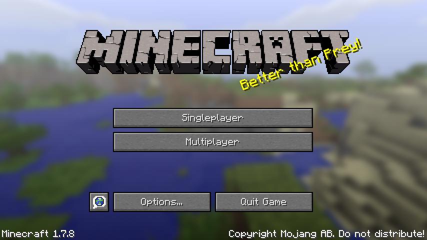 Minecraft 1-7-8