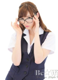 【Be★With】密室秘書/ベスト&タイトスカート★OL制服 紺