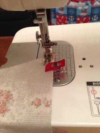 直線縫いって・・・