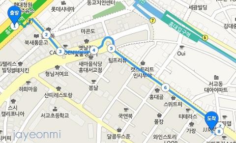 at fox_エイティーフォックス_弘大店map