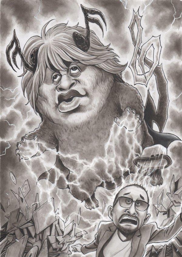 ASUKAの風刺漫画