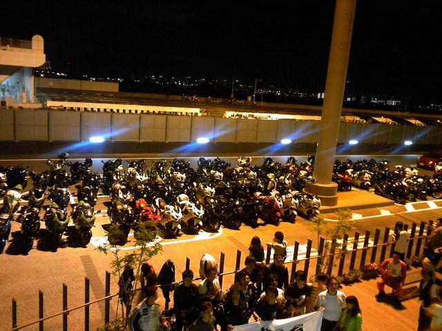 夜宴~大阪 阪神高速・中島PA~