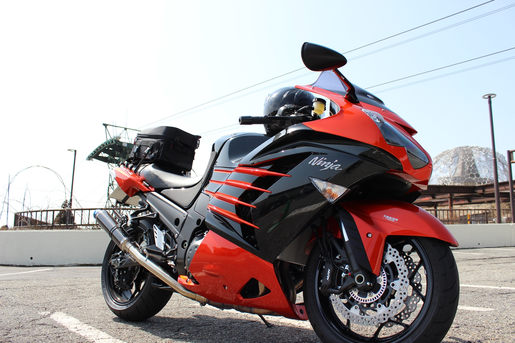 ZX-14R in 六甲山頂展望台