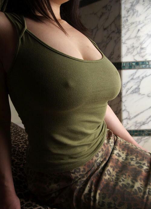 オッパイは、乳首透け5