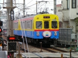 デヤ7200 奥沢駅付近