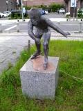 JR苫小牧駅 風