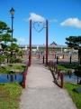 JR余市駅 橋とゲート