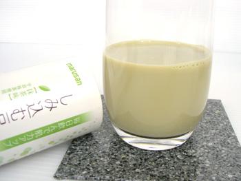 しみ込む豆乳