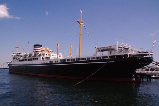 横浜日本郵船氷川丸