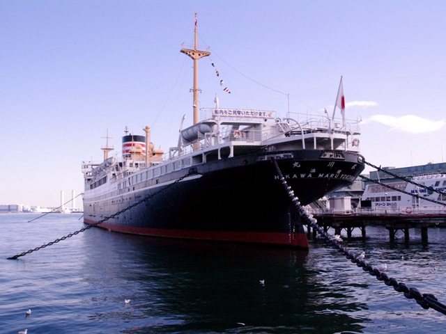 横浜日本郵船氷川丸10