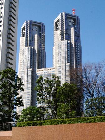 新宿センタービルから見た都庁