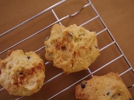 シナモンとチョコチップ、くるみでつくる超簡単アメリカンクッキー07