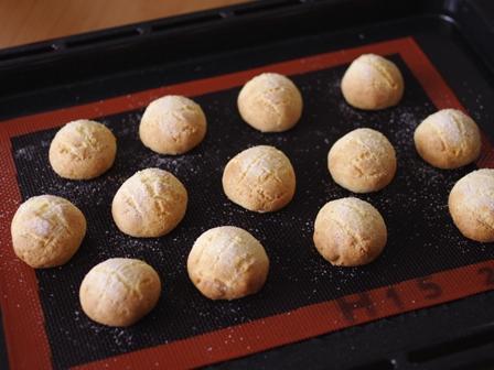ハウスパパンで携帯メロンパン笑ころころサクサクのメロンパンクッキー03