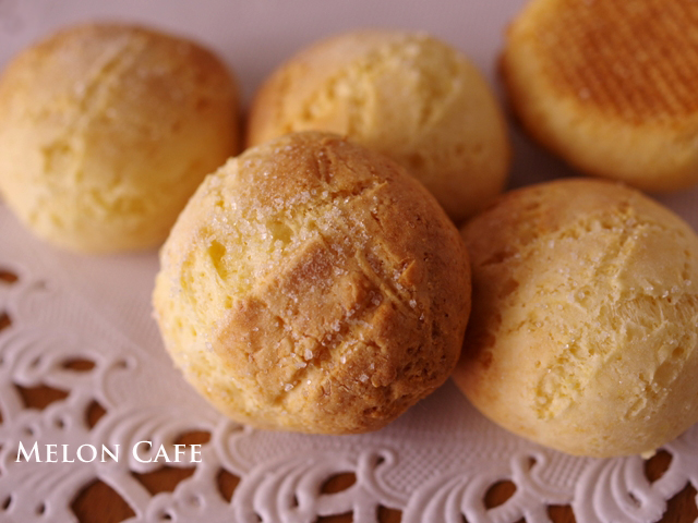 ハウスパパンで携帯メロンパン笑ころころサクサクのメロンパンクッキー00
